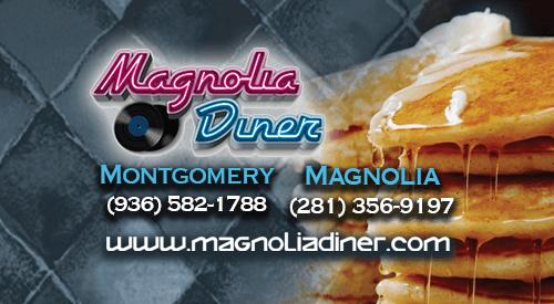 Magnolia Diner box ad